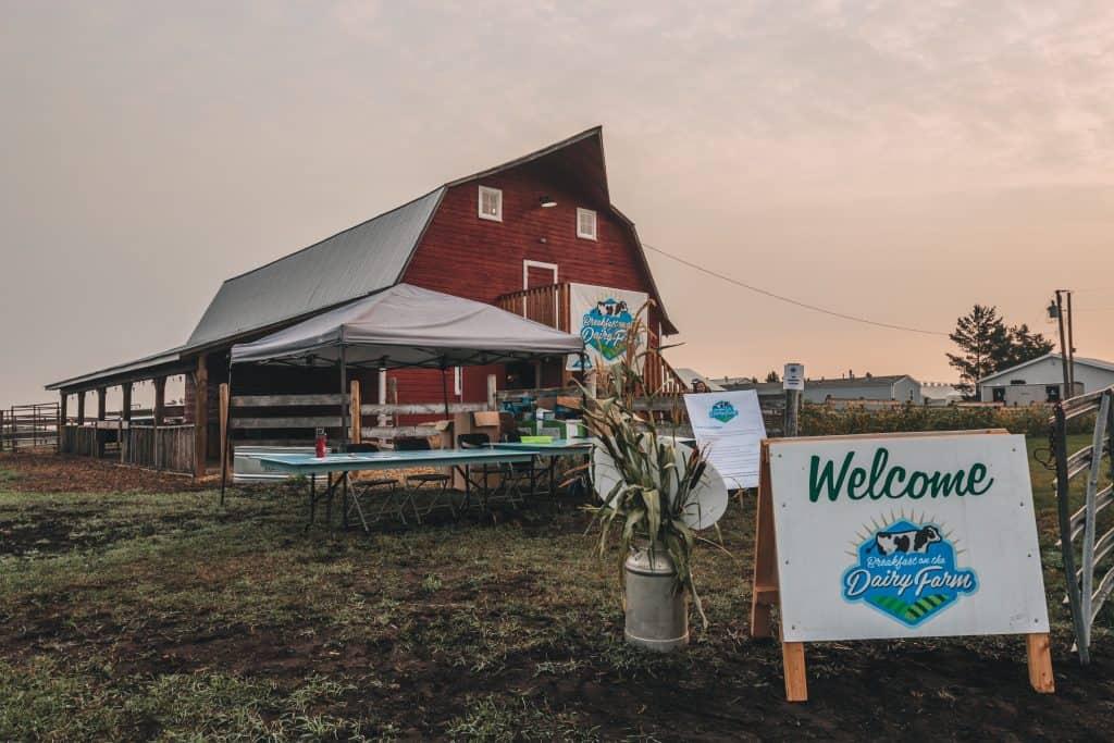 Enjoy a Free Breakfast on a Local Dairy Farm on July 6