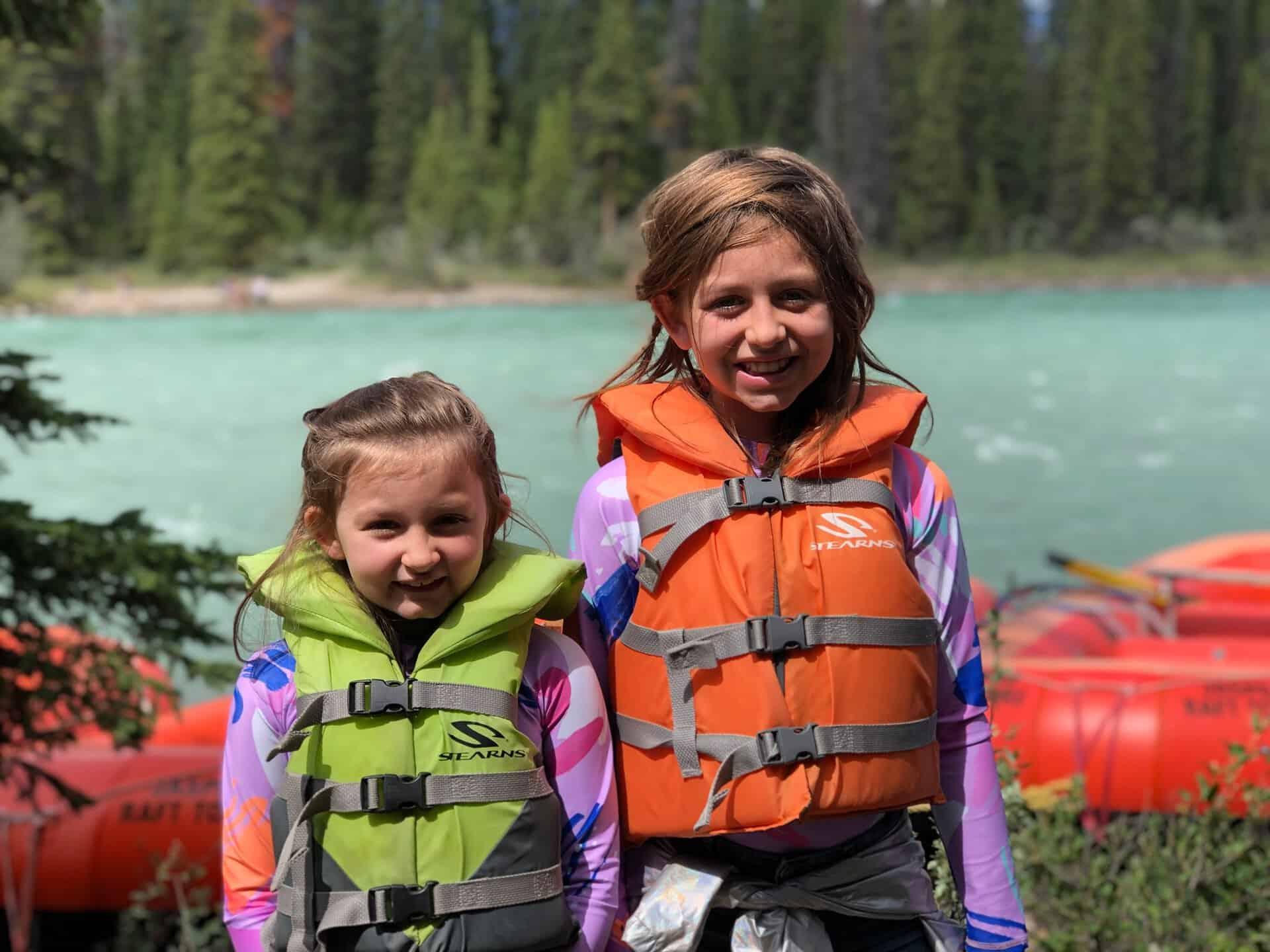 Kid-Friendly Rafting in Jasper with Jasper Raft Tours