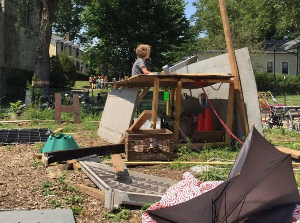 You Need to Visit this Pop-up Adventure Risky Play Playground on Monday Nights this Summer
