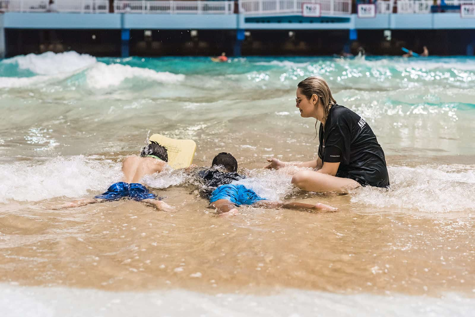 You Can Sign Your Kids up for Swimming Lessons at WEM World Waterpark