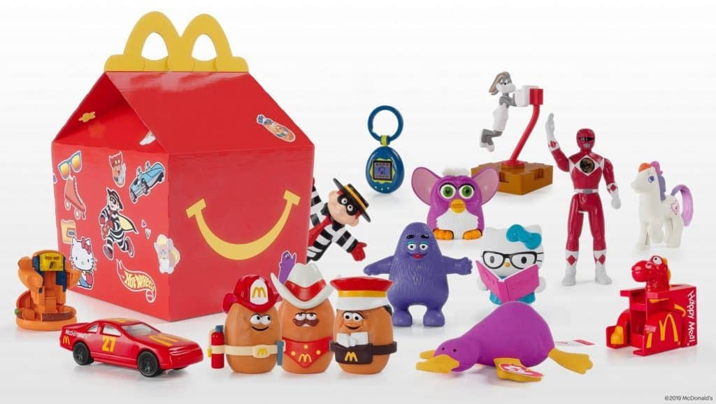 Get McDonalds Classics 'Throwback' Toys This Week in Your Happy Meal