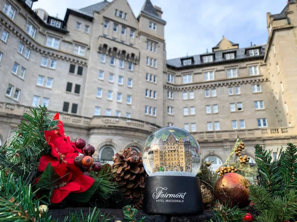 This Year There's Going to be a 20-Foot Tall Gingerbread House at Fairmont Hotel Macdonald