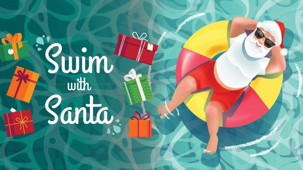 You Can Eat Pancakes and Swim with Santa at West Edmonton Mall this Month