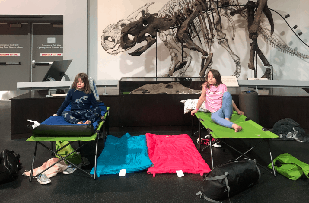 You Can Sleepover IN the Royal Tyrrell Museum with Your Kids