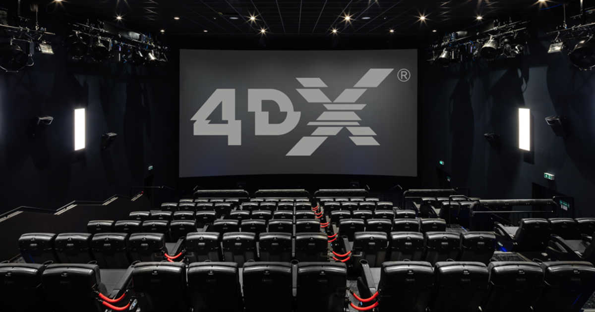 The Rollercoaster, Theme-Park-Like 4DX Movie Experience is Here and Your Kids are Going to Love It