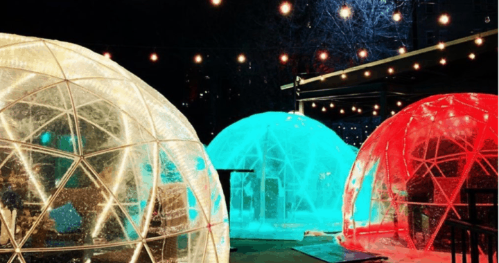 You Can Bring Your Kids to Eat in an Igloo on This Downtown Edmonton Patio