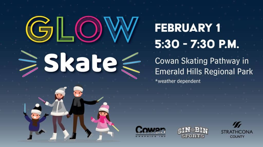 Don't Miss this Outdoor Glow in the Dark Skate & Free Hot Chocolate on February 1
