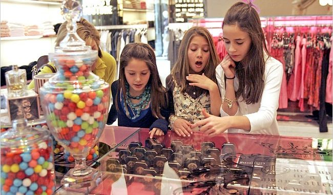How Old is Your 'Drop the Kids off at the Mall' Age?
