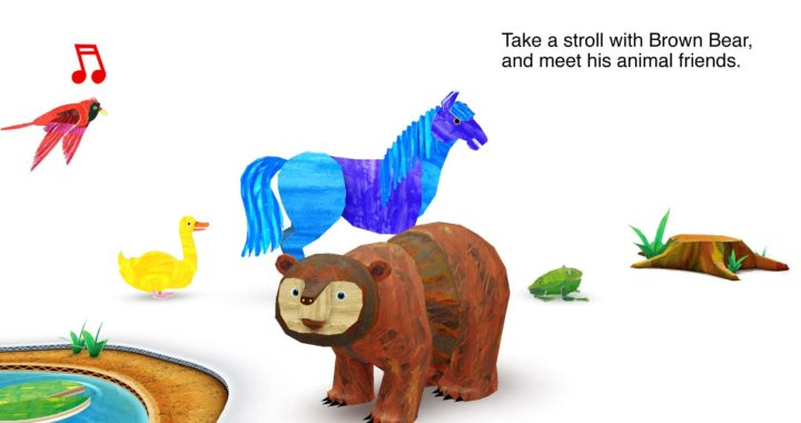 Get 'Eric Carle's Brown Bear 3D Animal Parade' for FREE Today Only – Regular $3.99