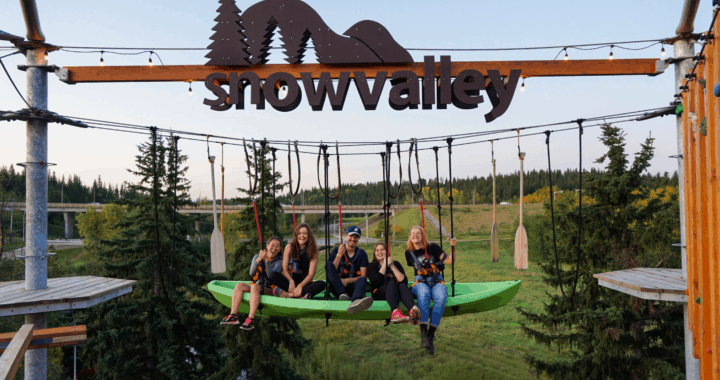 Family Summer Fun Awaits at the Snow Valley Aerial Park